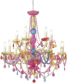 Rainbow Chandelier - Ideas on Foter