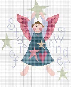 Schema punto croce Star Of Wonder