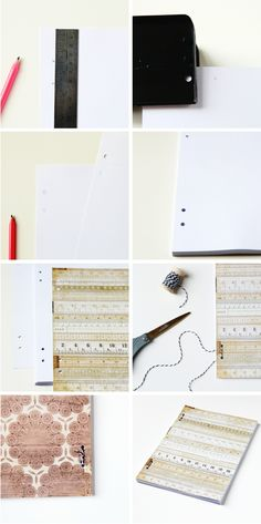 Things I've Made From Things I've Pinned: Simple Diy Softcover Notebook.