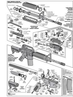 AR15 DIAGRAM GLOSSY POSTER PICTURE PHOTO schematic gun rifle weapon military 238 | Home & Garden, Home Décor, Posters & Prints | eBay!