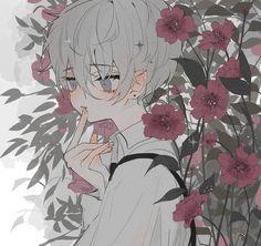 Cute Anime Boy, Anime Guys, Pretty Art, Cute Art, Manga Art, Anime Art, Arte Copic, Character Art, Character Design