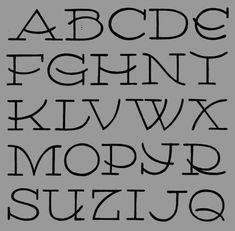 Hand drawn letters fun cute easy alphabet fonts for journaling Doodle Alphabet, Hand Lettering Alphabet, Doodle Lettering, Creative Lettering, Calligraphy Alphabet, Lettering Styles, Calligraphy Fonts, Typography Letters, Uppercase Alphabet