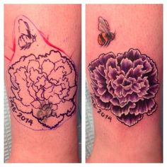 carnation tattoo - Google Search