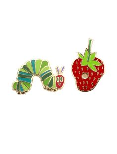 Look what I found from Out of Print! The Very Hungry Caterpillar Enamel Pin Set – Out of Print #OutofPrintClothing