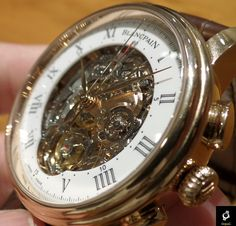 Blancpain Le Brassus Carrousel Minuter Repeater Chronograph Flyback