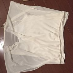 Express top Two piece attached gorgeous top Express Tops Blouses