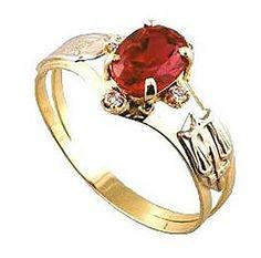 Anel de formatura segurança do trabalho   em ouro 18k 750 1 pedra semi preciosa oval 4 zirconia branca.