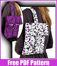 Marvelous Crochet A Shell Stitch Purse Bag Ideas. Wonderful Crochet A Shell Stitch Purse Bag Ideas. Free Sewing, Sewing Patterns Free, Quilting Patterns, Hand Sewing, Sewing Courses, Crochet Shell Stitch, Bag Pattern Free, Backpack Pattern, Crochet Handbags