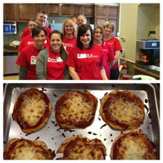 Thank you, Bank of Kansas City for making these awesome homemade mini pizza's! Our families LOVED them. Family Love, Kansas City, Families, Muffin, Homemade, Breakfast, Mini, Awesome, Food
