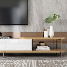 Round TV Cabinet And Coffee Table Wood Furniture Living Room, Living Room Cabinets, Tv Cabinets, Bed Furniture, Tv Stand Minimalist, Tv Stand Luxury, Tv Stand And Coffee Table, Tv Set Design, Wall Design