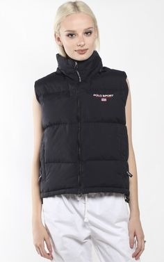 Vintage Polo Sport Puffy Vest