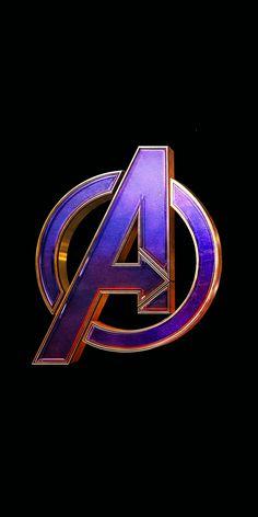 Avengers: Endgame, movie, logo, 1080x2160 wallpaper