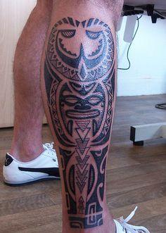 Tattoo Maori Polinésia kirituhi Polynesian.589 | Flickr - Photo Sharing!