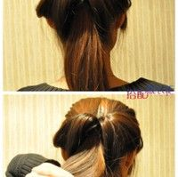 nice and quick hair style