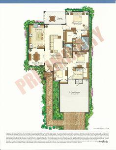 Bellalago Florence Floor Plans in Kissimmee FL