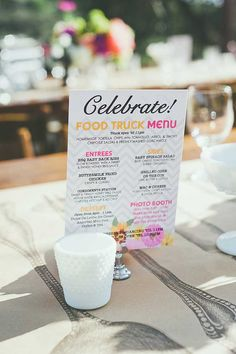 Border Grill Catering Wedding food truck menu                                                                                                                                                     More