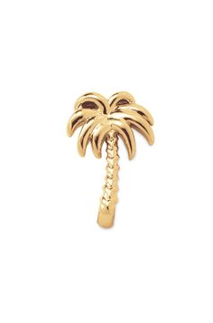 Gold Palm Tree Charm   KEEP Collective   KEEP Collective