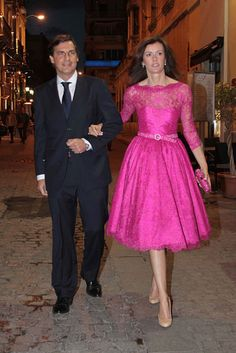 """Vestido de Lorenzo Caprile a lo """"Mad Men"""""""