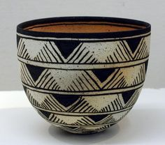 For many years, pottery has played an integral role in society, with many people collecting and making their own different variety. In some cases, ancient pottery has been sold for thousands, if no… Ceramic Decor, Ceramic Bowls, Ceramic Art, Pottery Bowls, Ceramic Pottery, Pottery Art, Pottery Painting, Ceramic Painting, Keramik Design