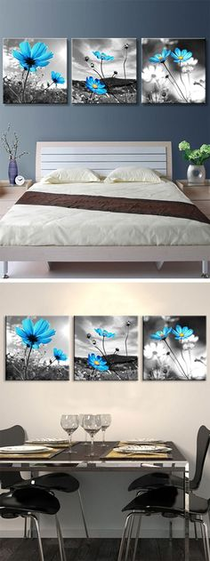 UP TO 50% OFF!Buy the latest best discount canvas wall art at cheap prices, and check out our daily updated new arrival best cheap canvas wall art for sale at Dresslily.com.#home Nursery Office, Graphite Art, Acrylic Painting Lessons, Acrylic Flowers, Hanging Pictures, Paint Party, Pastel, Art For Sale, Flower Art