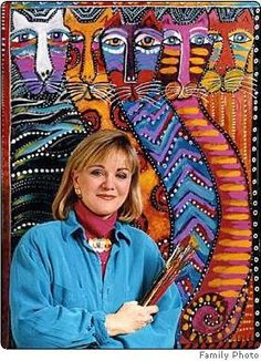 Laurel Burch - the amazing self taught folk artist... what you might not have known in her obit from Marin County