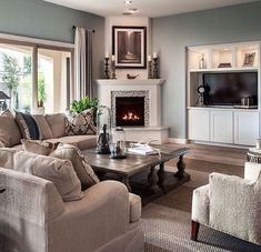 Are you looking for some amazing ideas for your new corner fireplace? Explore the top best corner fireplace designs featuring luxury angled interior ideas and inspiration. Small Living Room Layout, Best Living Room Design, Small Room Design, Family Room Design, Living Room Layouts, Fireplace Furniture Arrangement, Living Room Decor Fireplace, Small Living Rooms, Modern Living