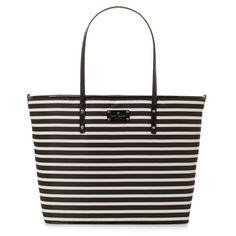 kate spade | designer diaper bags - nylon stripe harmony baby bag