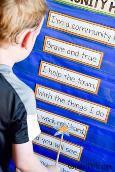 A sweet poem for preschoolers or kindergartners to learn to help them understand what Community Helpers do! A great addition to any Community Helper unit!