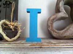 Freestanding Wooden Letter 'I'   25cm  Ariel by LoveLettersMe, £9.95