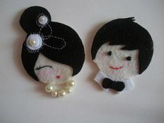 felt bride and groom pattern - Google Search