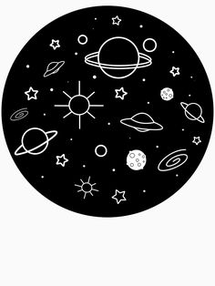Space and planets t-shirts and hoodies, for space and sci-fi lovers Cd Wall Art, Record Wall Art, Cd Art, Easy Canvas Art, Small Canvas Art, Mini Canvas Art, Cd Design, Posca Art, Cd Crafts