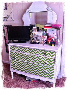Chelsea's dresser redo :) Furniture Redo, Painted Furniture, Pink Dresser, Craft Party, Repurposing, Dressers, My Room, Furnitures, My Dream Home