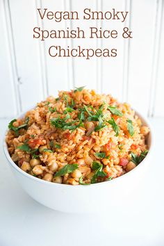 Smoky Fried Chickpeas Recipe — Dishmaps