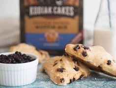 Blueberry Scones ~ Kodiak Cakes