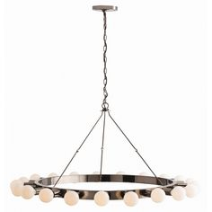 Dining or even master bedroom option, would use edison bulbs Stratton Chandelier