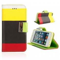 Leather Protective PC Case for iPhone 5C Multicolor( 1 ) | favwish - Accessories on ArtFire