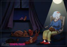 MariMoon - Princesas Disney idosas