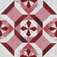 Free EQ block pattern by Christine N. Brown, Editor-in-Chief, American Quilter magazine