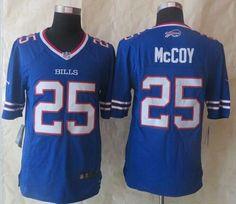 Nike Bills #25 LeSean McCoy Royal Blue Team Color Men's Stitched NFL New Limited Jersey