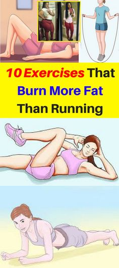 10 Exercises That Burn More Fat Than Running – OBSOLO