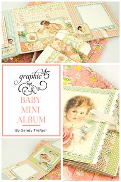 Hello, G45ers! Let's kick off the week with a fabulous Folio Mini Album Tutorial fromSandy Trefger. Sandy Shares two versions of this album to showcase how versatile this folio can be. The first featuring ourLittle Darlings - Deluxe Collector's Editionand the second, Raining Cats & Dog