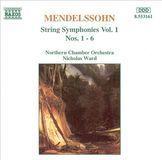 Mendelssohn: String Symphonies Nos. 1 - 6 [CD]