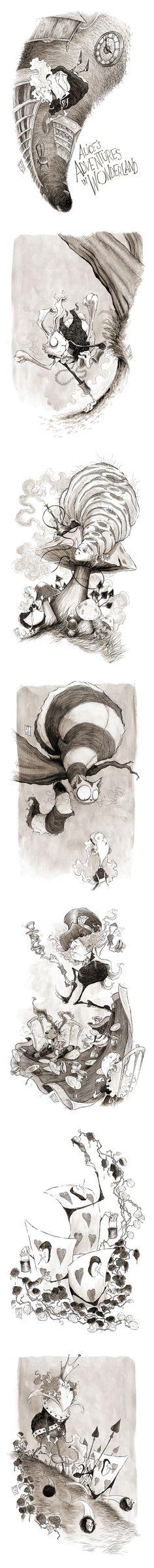 Alice's Adventures in Wonderland by TeemuJuhani