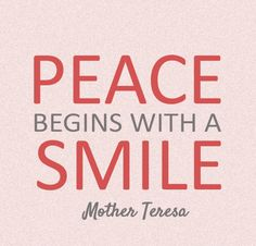 Peace Mother Teresa Quotes