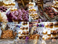 The Parador Wedding Inspiration - Real Wedding - by Houston Wedding Photographer Motley Mélange - Dessert Bar