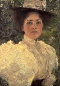 Woman In Green (1896)