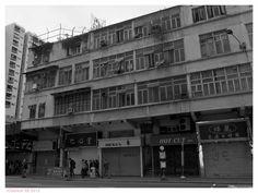 Old Building in Hong Kong@Hunghom