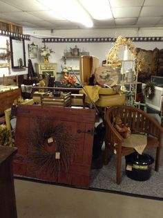 Primitives and more ~ booth display
