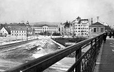 Veľmi pekná fotka Šafka asi okolo roku 1900. Na zábradlí vľavo dole náhoda vytvorila akúsi bielu myšku ... Bratislava, Old Photos, Nostalgia, Arch, Louvre, Mansions, House Styles, Building, Photography