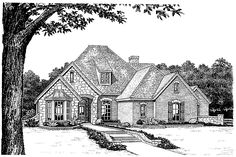 Eplans French Country House Plan - Delightful Chateau - 2695 Square Feet and 4 Bedrooms(s) from Eplans - House Plan Code HWEPL08687